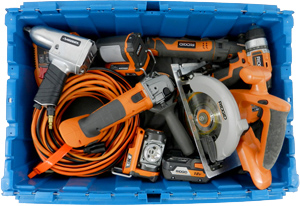 Storing Your powertools and Garage Items - Stow Simple